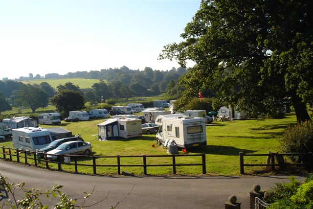 East Hants Caravan Club rally